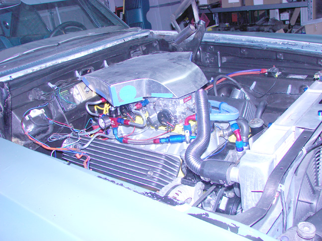 Custom Automotive Air Cleaners : Muscle